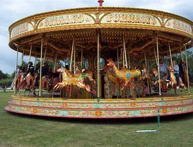 Fairground Carousel to hire