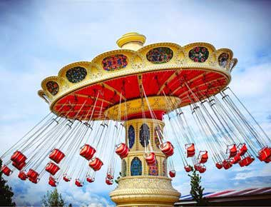 Flying Chairs Fairground Ride