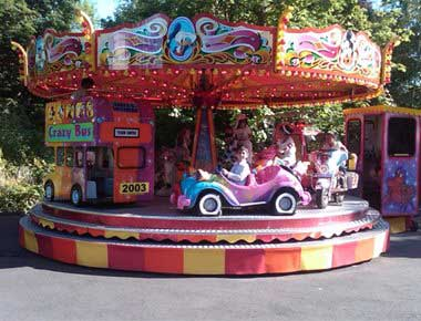 Childrens Fairground Rides