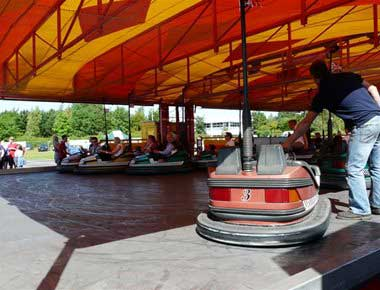 Dodgems Fairground Ride