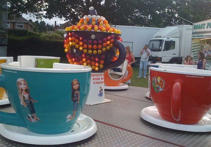 Cups and Saucers Childrens Rides
