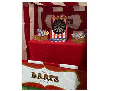 Darts Side Stall Game