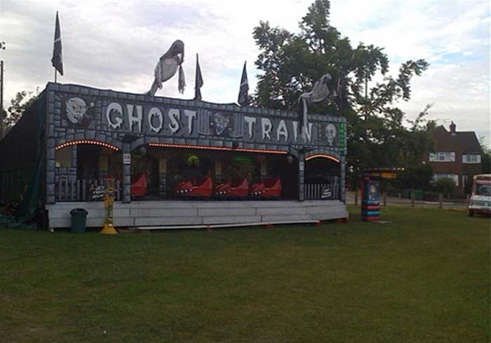 Ghost Train Fairground Ride