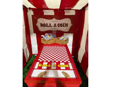 Roll A Coin Fairground Game