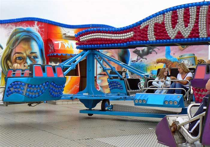 Hire Twist Fairground Ride
