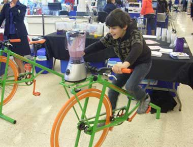 Bicycle Smoothie Makers