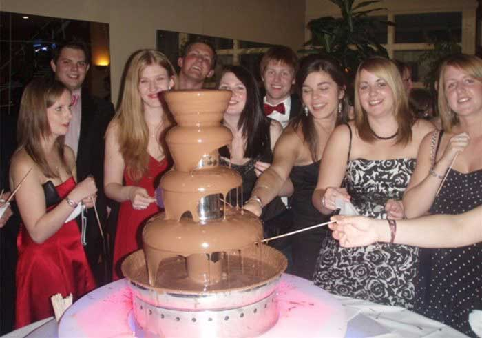 Chocolate Fountains for weddings