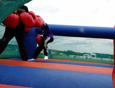 Hire Bouncy Boxing