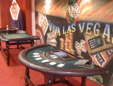 Hire BlackJack Tables