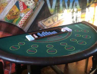 Hire Poker Table