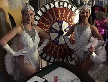 Hire Wheel of Fortune Tables
