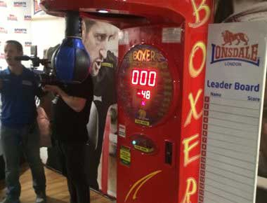 Hire Boxer Arcade Machine