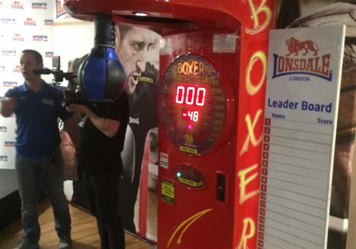 Boxer Arcade Machine