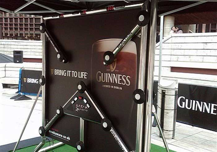 Branded Batak Wall for Drinks Company