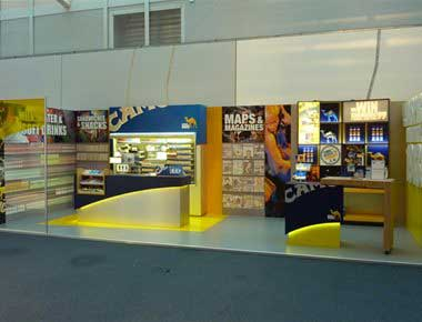 Any size exhibition stand made