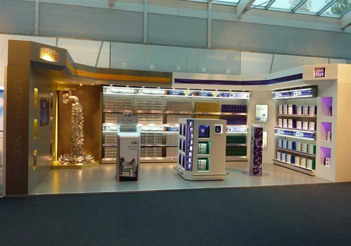 Exhibition stands available throughout the UK