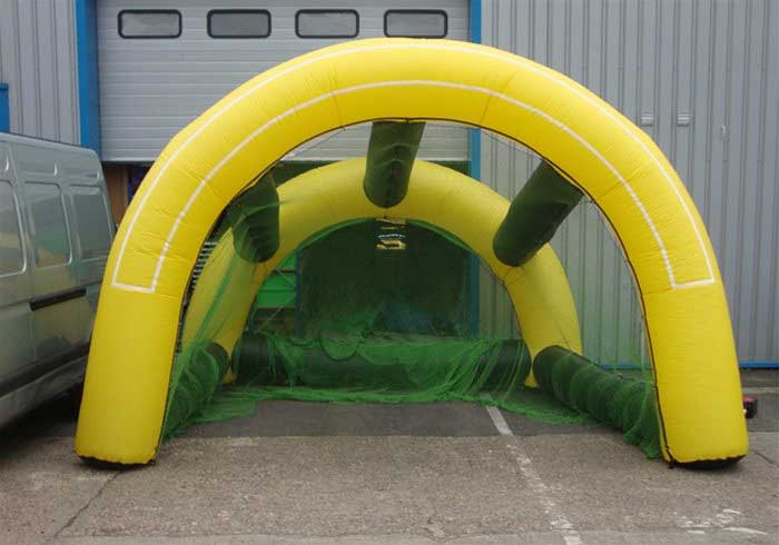 Hire Inflatable Football Goal