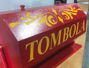 Tombola for Prize Draw
