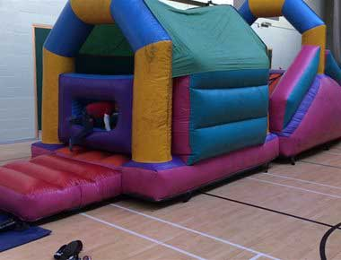 Hire Inflatable Mini Assault Course
