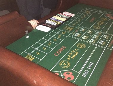 Craps Table for Hire