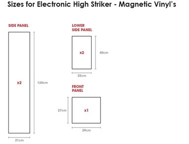 Electronic Hi Striker Specifications