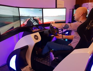 Virtual reality Racing Simulator