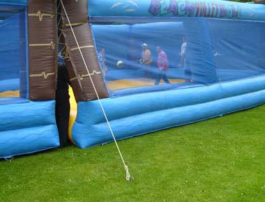 Hire Inflatable Volleyball Game
