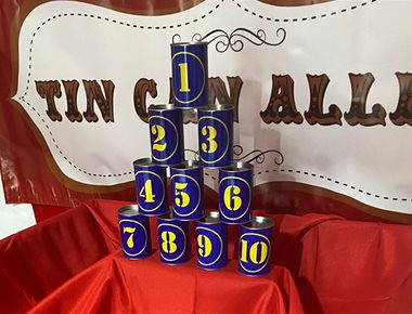 Hire Tin Can Alley Game