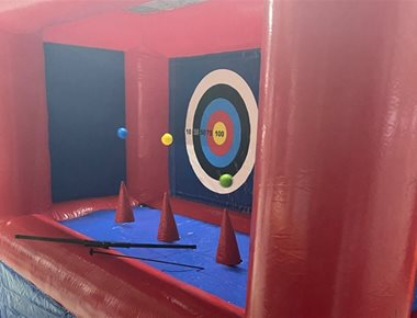 Inflatable Archery for Hire