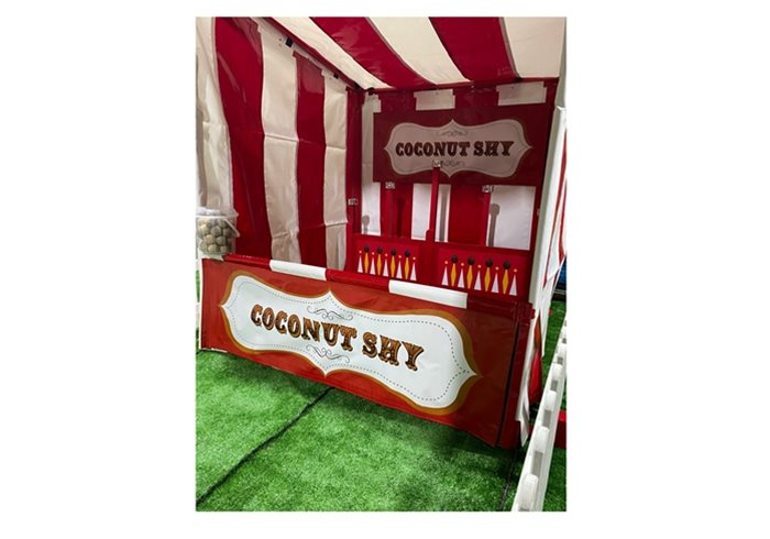 Funfair Coconut Shy for hire