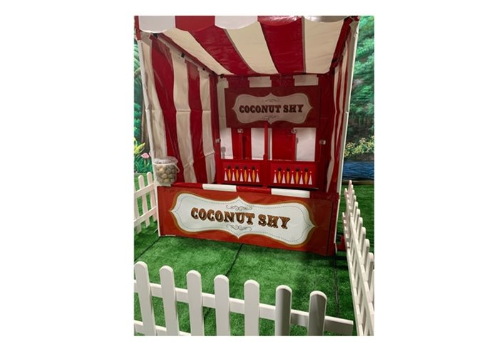 Hire Coconut Shy Funfair Side Stall