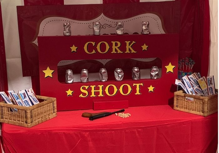 Hire Cork Shoot Funfair Stall