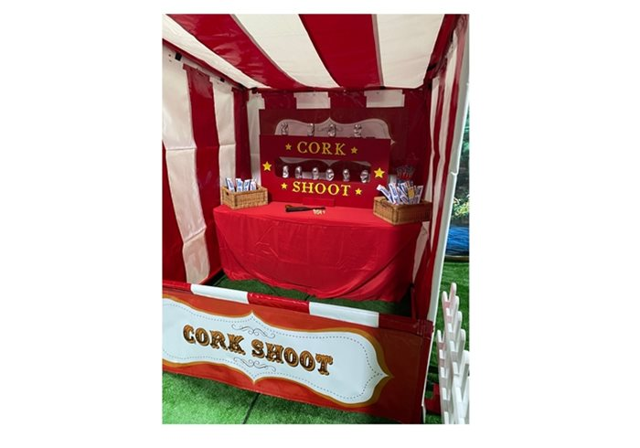 Hire Cork Shoot Fairground Stall