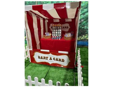 Hire Dart A Card Funfair Side Stall