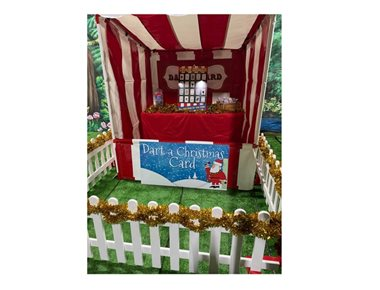 Hire Christmas Funfair Stalls