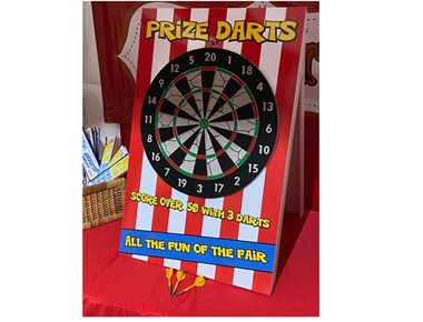 hire darts side stall game