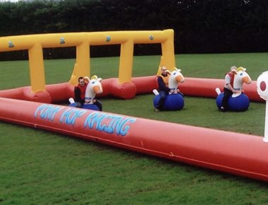 Hire Inflatable Horse Racing