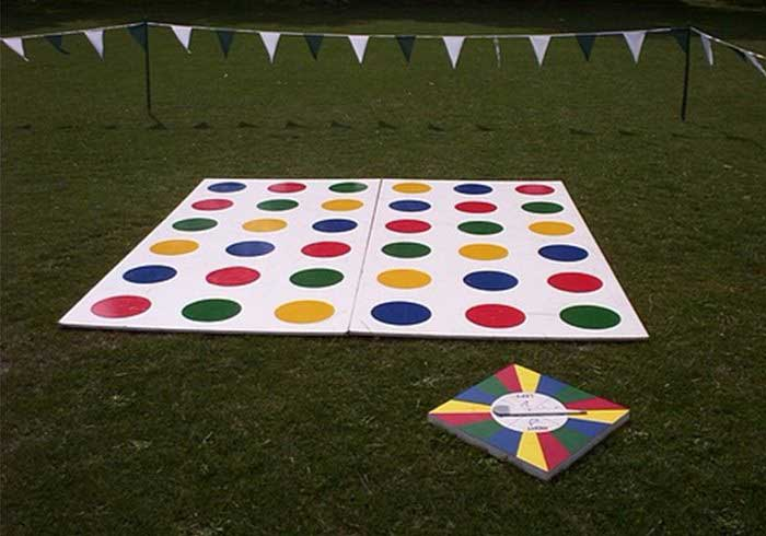 Twister boards on a fun day