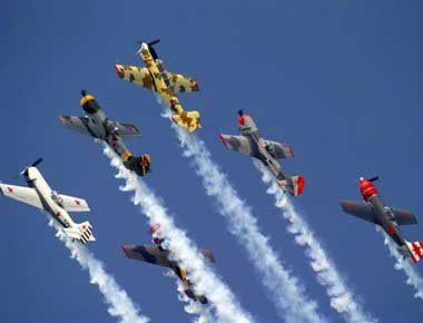 Aerobatic Display