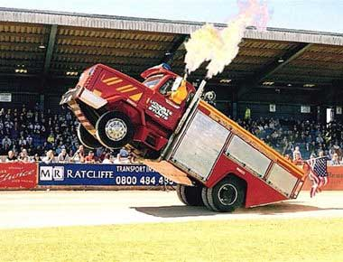 Hire Fire Engine Arena Show