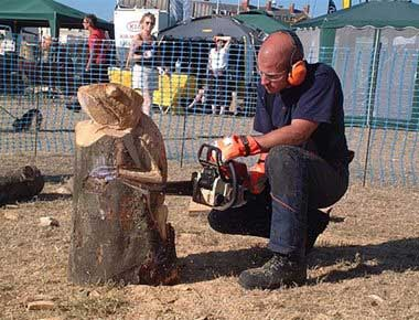 Chainsaw Carving Show