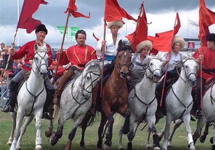 Cossack Themed Horses