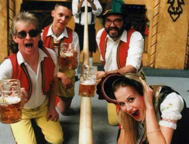 Bavarian Band in costume