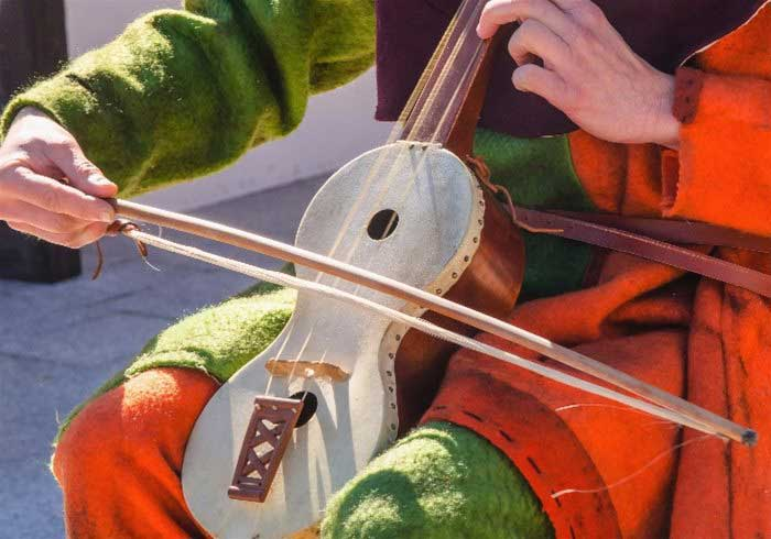 Traditional Medieval Musicians