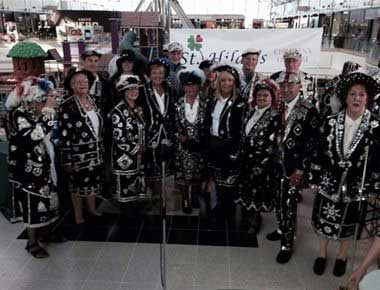 A group of pearly kings and queens