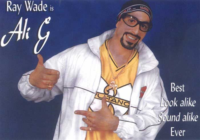 Image of a lookalike of Ali G