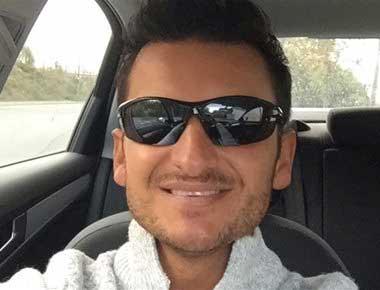 Lookalike of Popstar Peter Andre