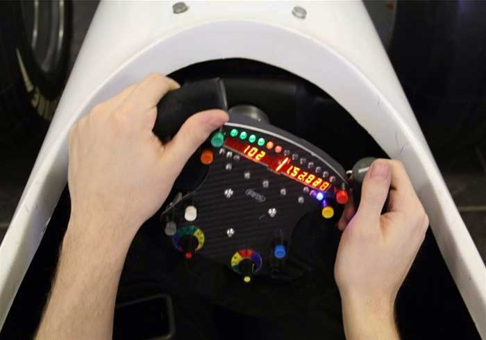 Formula 1 driving simulator