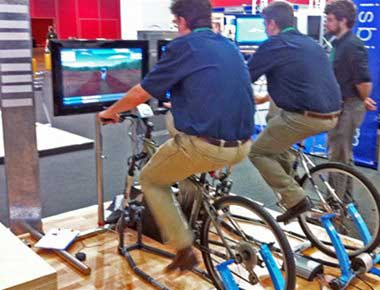 Hire Bicycle Simulators