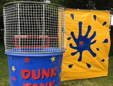Fun Dunk Tank at a fun day